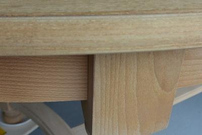 Rénovation de table et chaises en bois