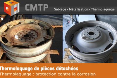 Thermolaquage de pièces détachées en Côtes-d''Armor (22)