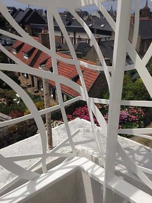 Sablage et thermolaquage de salons de jardin, de garde-corps, de portails, d''éléments décoratifs gradecorps