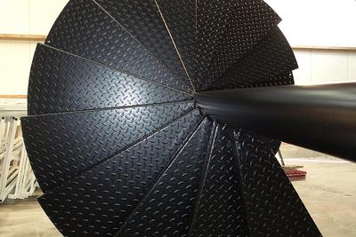 Escalier helicoïdal - presta mat clients