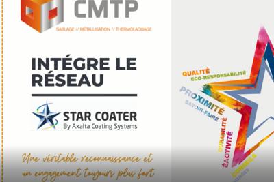 Mai 2021 : CMTP intègre le réseau STAR COATER