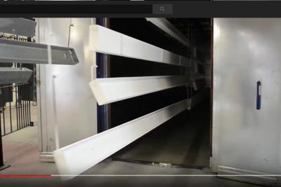 Un nouveau four de 12 mètres et 5 rails pour plus de productivité