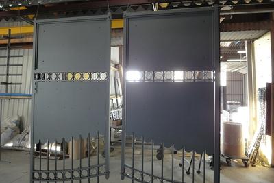 Portail et grille métal thermolaqués