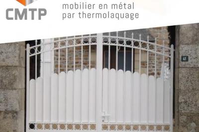 Sablage et thermolaquage portail : rénovation