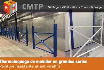 Thermolaquage de mobilier en grandes séries en Côtes-d''Armor (22)