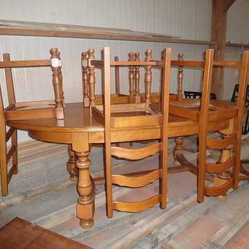 Rénovation de table et chaises en bois meublesarenover
