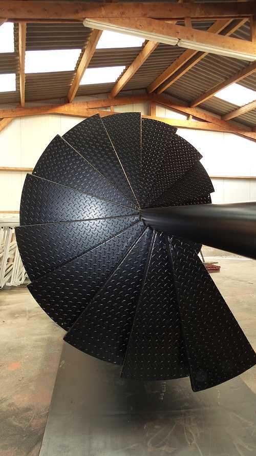 Escalier helicoïdal - presta mat clients 0