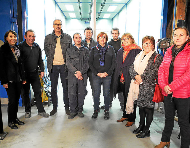 Annie Le Houérou, député des Côtes-d''Armor, visite CMTP 0