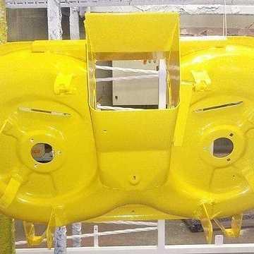 Rénovation carter de tondeuse cartertondeuseaprespeinture