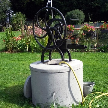 Rénovation d''une pompe à bras pompeabrasinstalle