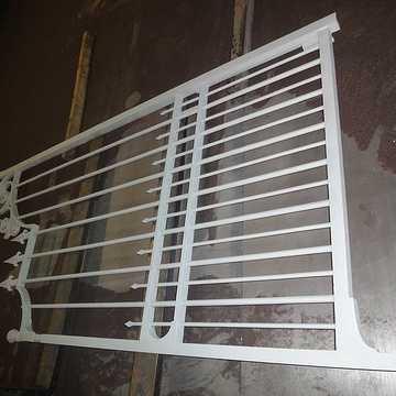 Sabler un portail ancien pour le rénover portailgoudemetallise