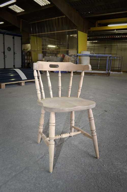Sablage - Chaise en Bois dsc4958