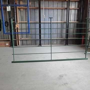 Sablage et thermolaquage escalier métal a