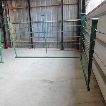 Sablage et thermolaquage escalier métal c1