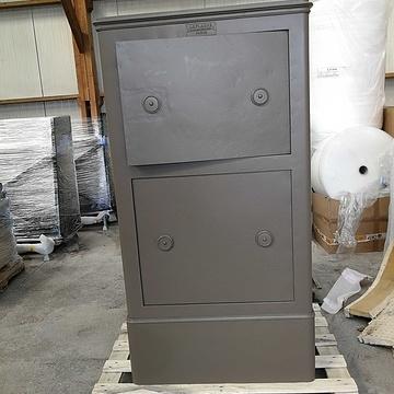 Rénovation d'un coffre-fort c1cfthermolaque7006m