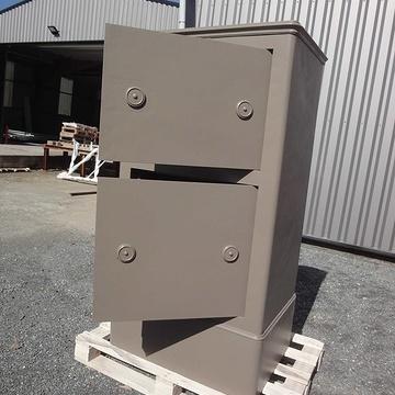 Rénovation d'un coffre-fort c3cfthermolaque7006m
