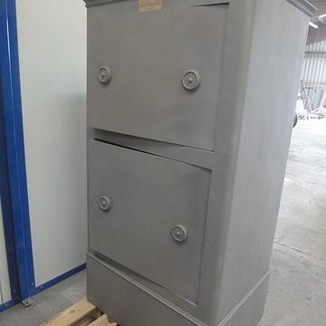 Rénovation d'un coffre-fort b2cfsable