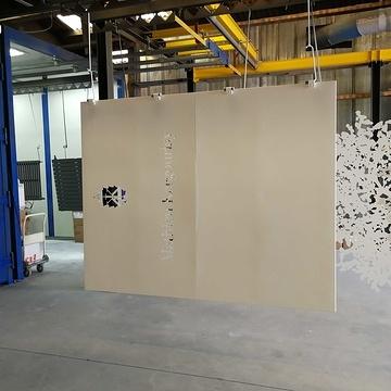 Décoration en métal, découpe laser pour Le Domaine du Boisgelin - 22- Bretagne img201804191634201