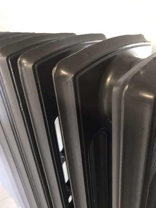 Sablage et thermolaquage d''un radiateur en fonte e