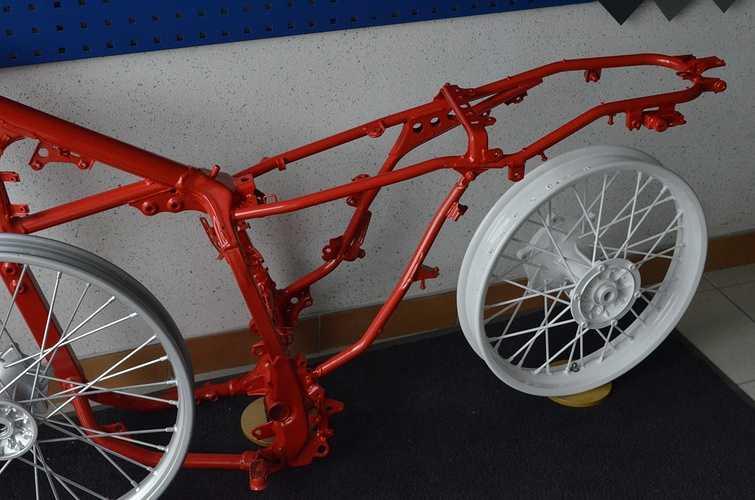 Rénovation jantes et cadre de vélo dsc8922