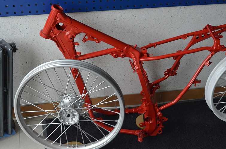 Rénovation jantes et cadre de vélo 0