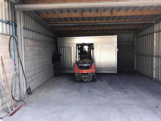 Nouvelle cabine de métallisation chez CMTP cm3