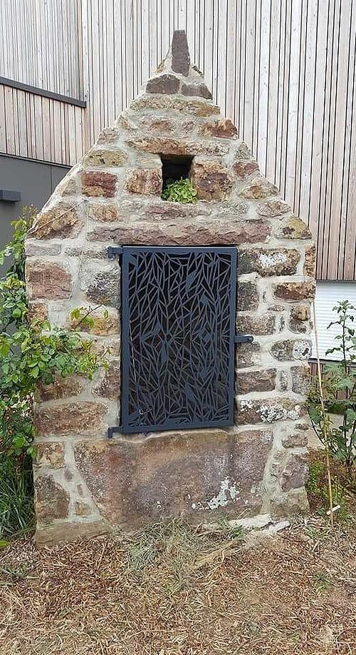 Sablage et thermolaquage de salons de jardin, de garde-corps, de portails, d''éléments décoratifs photo329petite