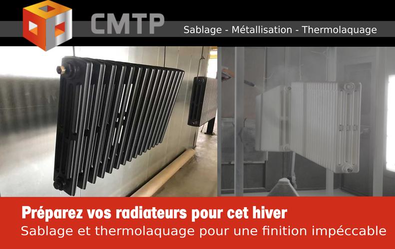 Rénovation de vos radiateurs par les équipes CMTP Guingamp (22) 0