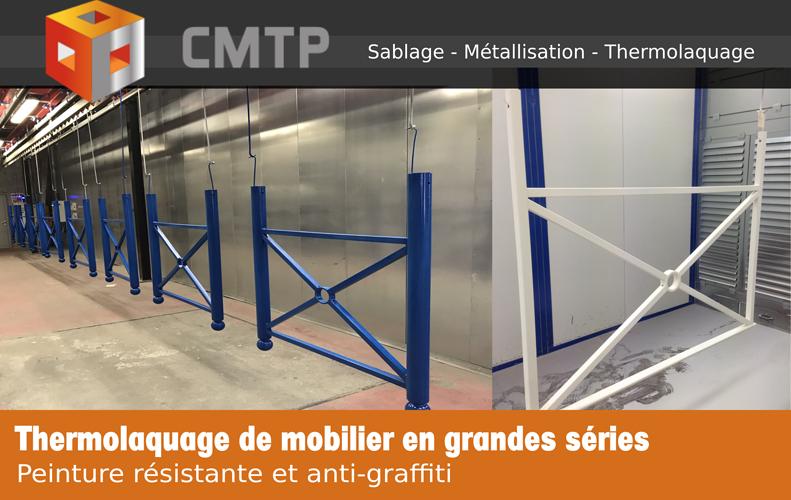 Thermolaquage de mobilier en grandes séries en Côtes-d''Armor (22) 0