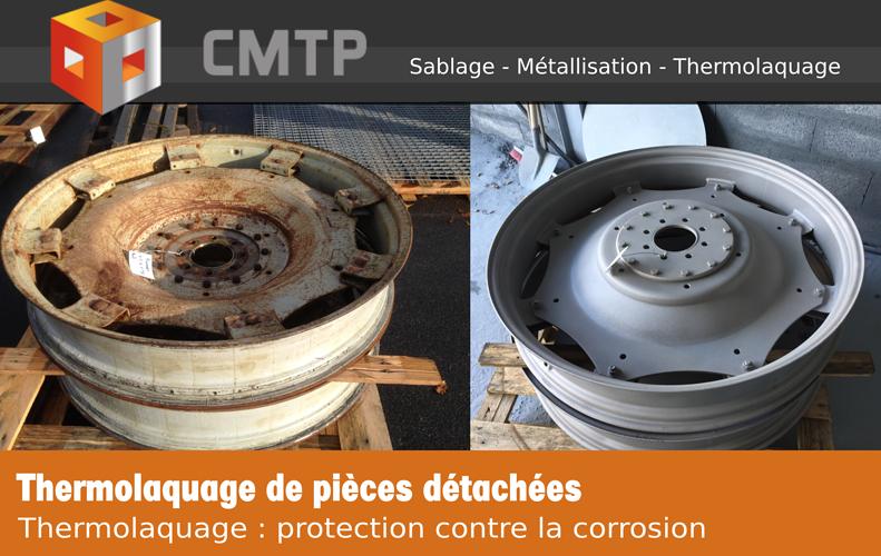 Thermolaquage de pièces détachées en Côtes-d''Armor (22) 0